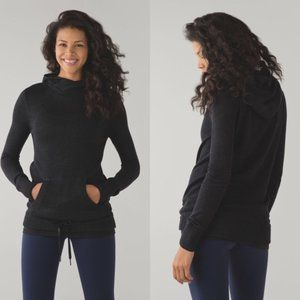 Lululemon Sweet Savasana Pullover Heathered Black